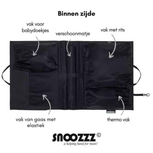 Snoozzz organizer binnenzijde