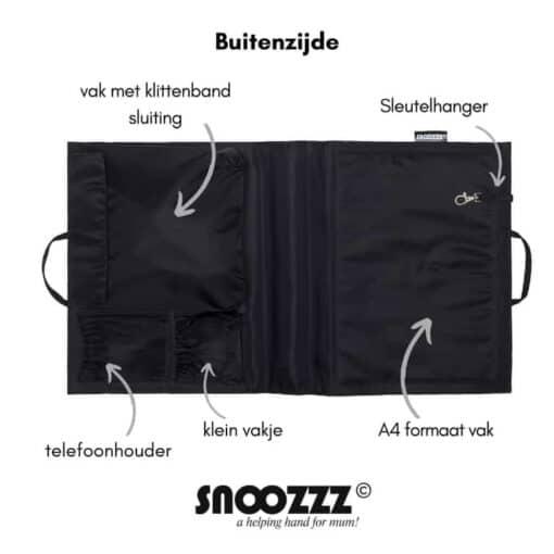 Snoozzz organizer buitenzijde