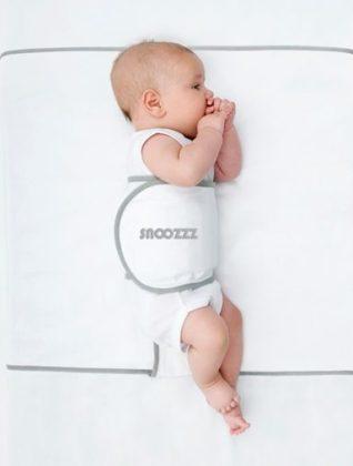 baby veilig slapen op de zij