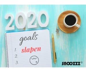 goede voornemens 2020 slapen
