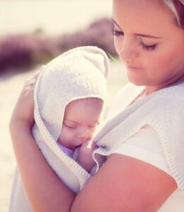 baby warm houden