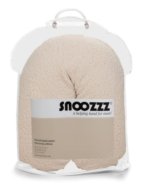 Snoozzz voedingskussen Small teddy natural TAS